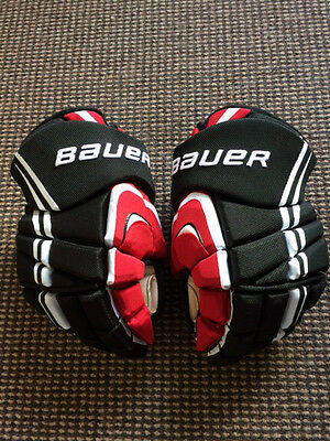 pro stock Taylor Hall team Canada Bauer APX 13'' gloves