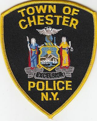 Chester New York Police Patch Ny
