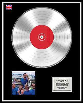 ROBBIE WILLIAMS Ltd Edition CD Platinum Disc Record SING WHEN YOU'RE WINNING