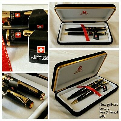 Quality Pen and Pencil Genuine Swiss Military