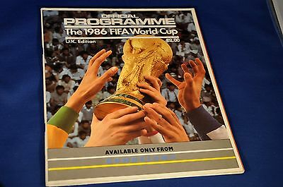 FIFA Official World Cup Programme 1986