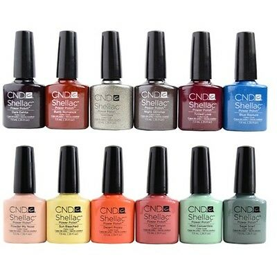 CND Shellac - Colors (J-Z) - 7.3ml / 0.25oz Each - All Colors Available!