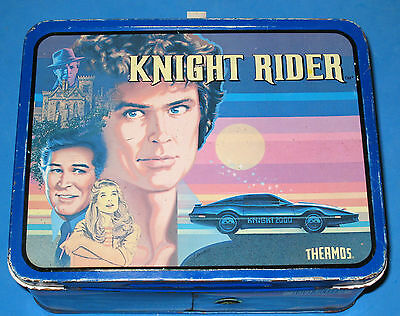 Knight Rider Collectible Kid's Metal Lunchbox No Thermos