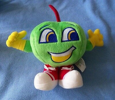 Jolly Rancher candy Green Apple plush toy anthromorphic Hershey candies