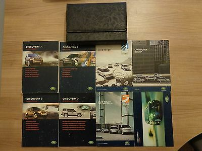 Land Rover Discovery 3 Owners Handbook/Manual and Wallet 04-09
