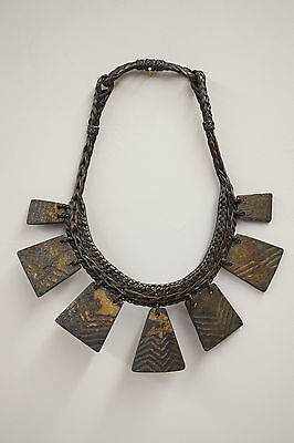 Ifugao Wood Status Necklace Philippine Tribal