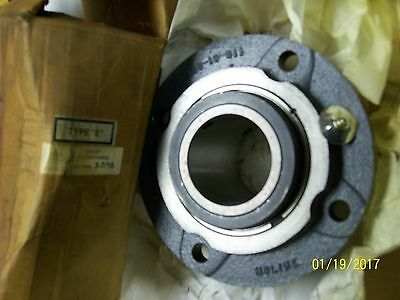 "*new* Moline Piloted Flange Tapered Roller Bearing Type E 3-7/16"" Bore, 19331307"