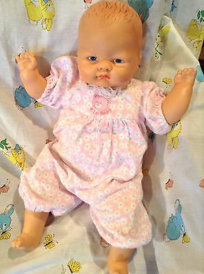 """Playmate Vintage Welcome Home Baby Doll 18"""" 1986"""