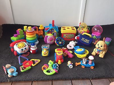 Assorted Baby Toddler Toys Fisher Price Vtech