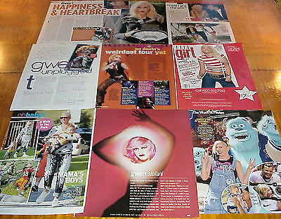 Gwen Stefani Clippings #1 No Doubt #091216