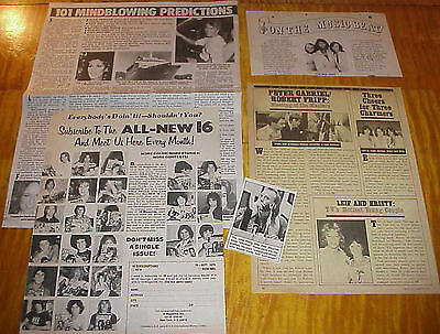 Andy Gibb Bee Gees Clippings #111116