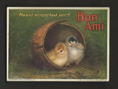 Bon Ami, The Finest Cleaner Made - Chicks in Coconut Shell