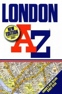 A-Z London (Street Atlas) by Geographers' A-Z Map Company Paperback Book The