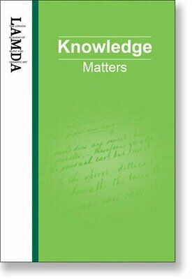 LAMDA Knowledge Matters: An Essential Reference Guide for Teachers ... Paperback