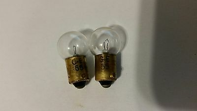 Pair Of Nos B&k 747 B Tube Tester #55 Ge Bulb Replacements
