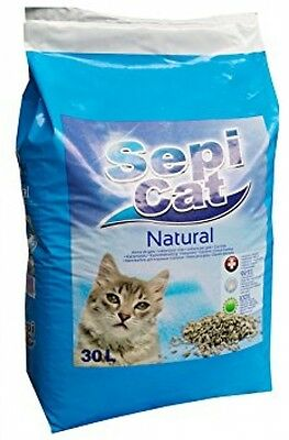 Cat Litter Non-Clumping Sepicat 30L Antibacterial Lasting Odour Protect Hygiene