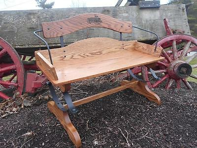 2-Buckboard Bench Woodworking Kits-Hardware w/full size plans-Real Springs