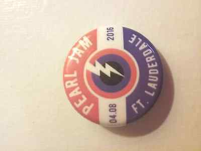 PEARL JAM Ft. Lauderdale 4.8.16 Event Button Pin