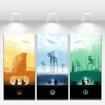 HD Art Print Oil Painting on Canvas Wall Decor Star Wars - NO Framed