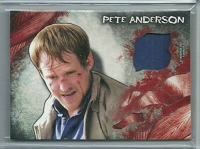 2016 Walking Dead Topps Survival Box Pete Anderson Authentic Used Shirt Relic