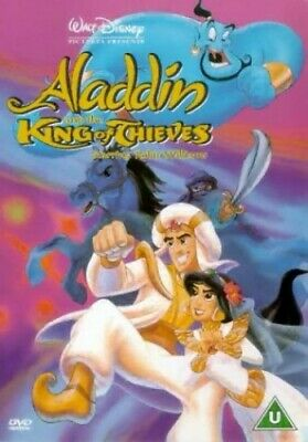 Aladdin and the King of Thieves [DVD] - DVD  QJVG The Cheap Fast Free Post