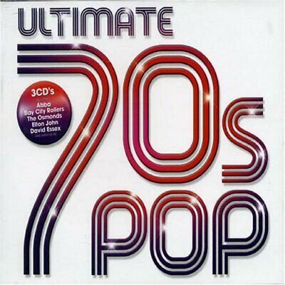 Various Artists - Ultimate 70s Pop - Various Artists CD 28VG The Cheap Fast Free