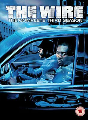 The Wire: Complete HBO Season 3 [DVD] [2007] - DVD  0SVG The Cheap Fast Free