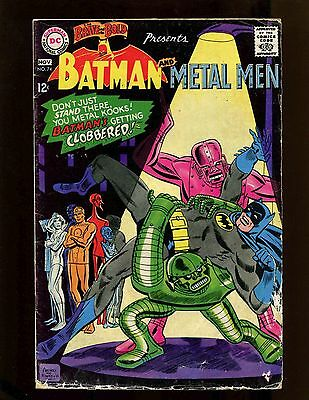 Brave and the Bold #74 VG Andru Esposito Batman Metal Men