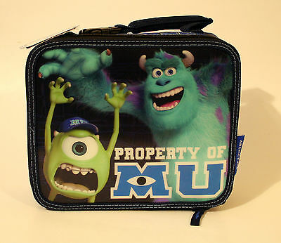 Monsters University Mike SuIley Insulated Lunch Box Travel School Snack Food Bag