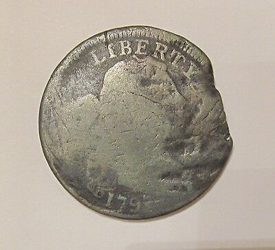 1897 Draped Bust Large Cent / Circulated Condition
