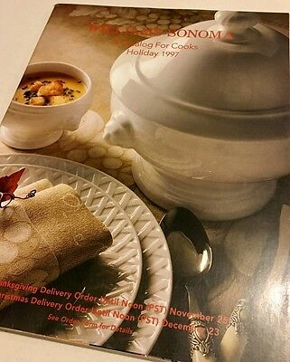 Williams Sonoma - A Catalog For Cooks - Holiday 1997