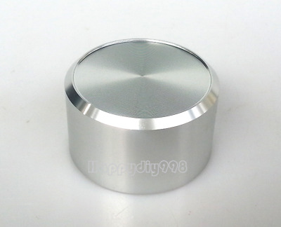 1 PC silvery Aluminium volume potentiometer Knob for Guitar Effect Pedal 38x22mm