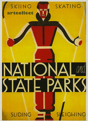 Image: Poster 1930s: National Parks. Sea Cliff, Long Island. NOT ORIGINAL POSTER