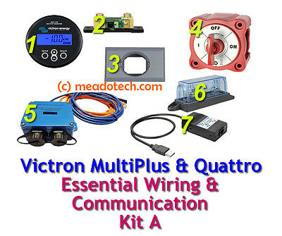 Victron Multiplus Quattro Essential Wiring and Comm Kit A FREE EU Delivery