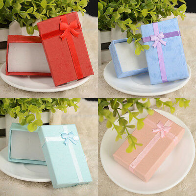 6pcs High Quality Jewellery Gift Boxes Bag Necklace Bracelet Ring Wholesale