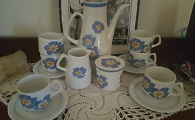 woods and sons ironstone coffee/teapot set Alpine White