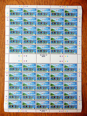 SOLOMON ISLANDS Wholesale 1989 Xmas SG662 Sheet of 50 NEW SALE PRICE FP2523
