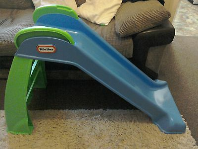 little tikes first slide blue and green