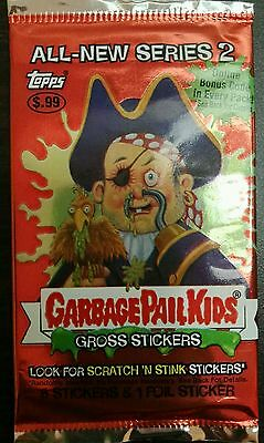 VINTAGE GARBAGE PAIL KIDS / GANG ALL NEW 2nd 2004 UNOPENED PACK TRADING CARDS