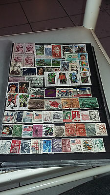 65Timbres Obliteres Usa