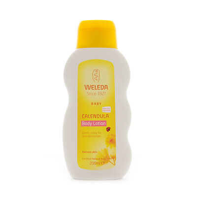 WELEDA Calendula Body Lotion 200ml Baby & Child delicate skin certified natural