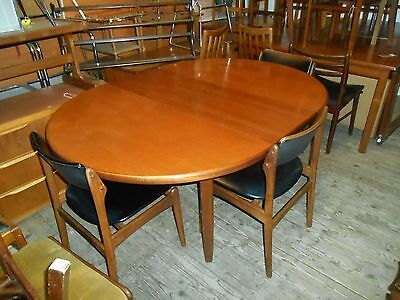 Vintage Retro Teak Dining Table and 4 Chairs Scandinavian ? 1960s/ 70s