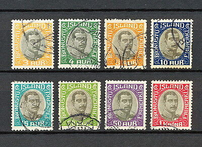 Iceland 209 Used 1920 Officials