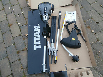 Titan Petrol 2 in 1 Multi-Tool  Hedge and Grass Trimmer