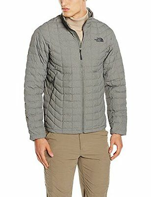 Grigio/Fuseboxgrytxtre (TG. Medium) North Face M Thermoball Full Zip Eu Giacca,