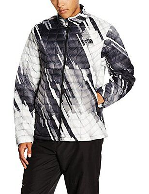 Nero/Tnfblkstrataprt (TG. Small) North Face M Thermoball Full Zip Eu Giacca, Ner