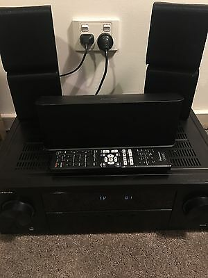 Pioneer Home Theatre System: VSX-531 AV Receiver With Speakers