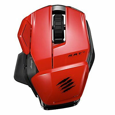 Mad Catz Office Mouse Wireless- rosso