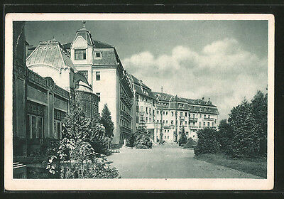 tolle AK Bad Pistyan, Thermia Palace Hotel 1938