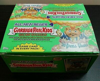 2005 Garbage Pail Kids / Gang US All New Series 4 Empty Box with Wrappers